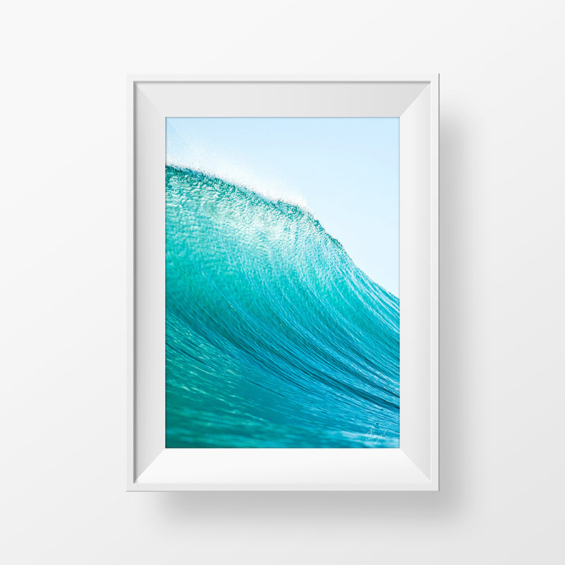 Vertical Wave Framed – Local Pick up – Dylan Brayshaw